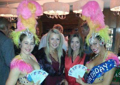 JanineKoula-and-Vegas-showgirls