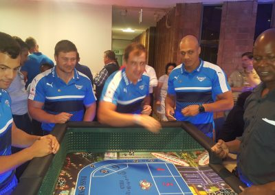 Mini Craps (Dice) Table - Blue Bulls(2)