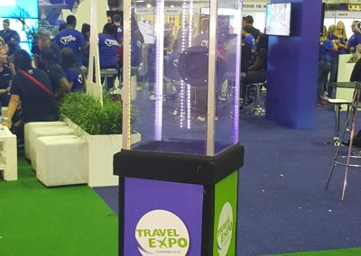 Money Blower - Travel Expo Promo
