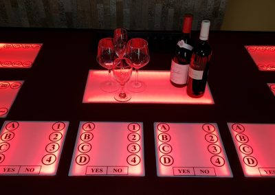 Wine Tasting Trivia Table(2)