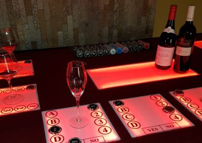 Wine Tasting Trivia Table(4)